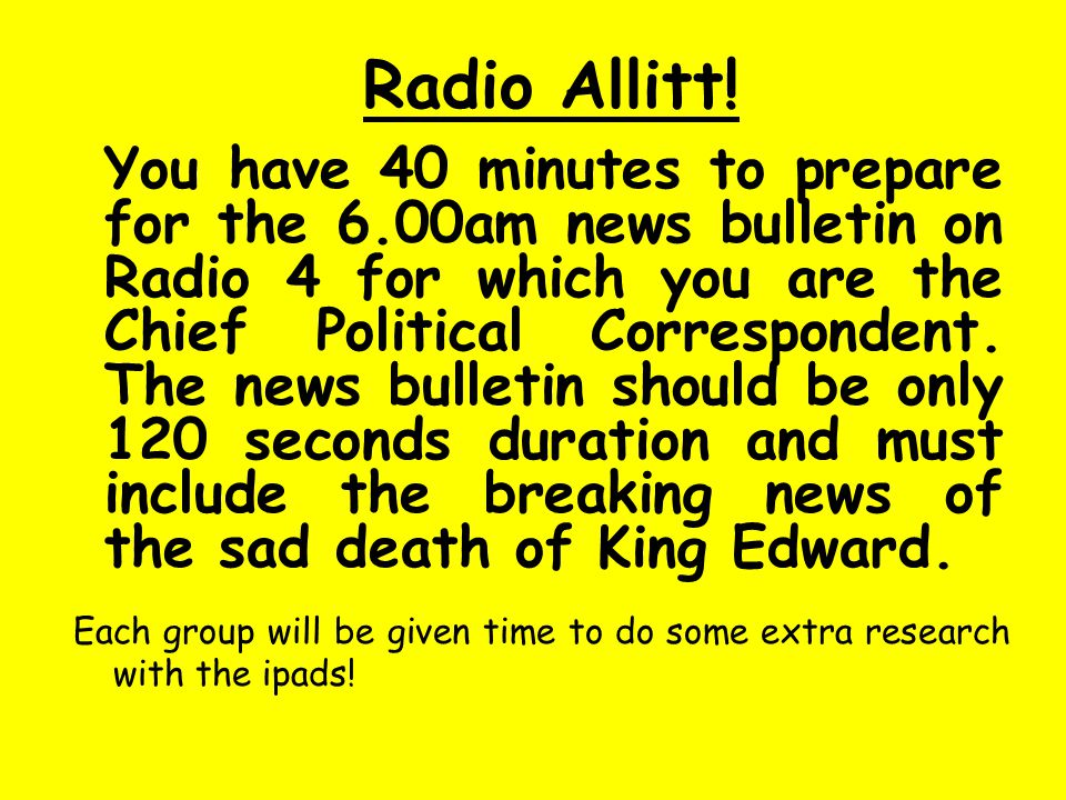 Radio Allitt.