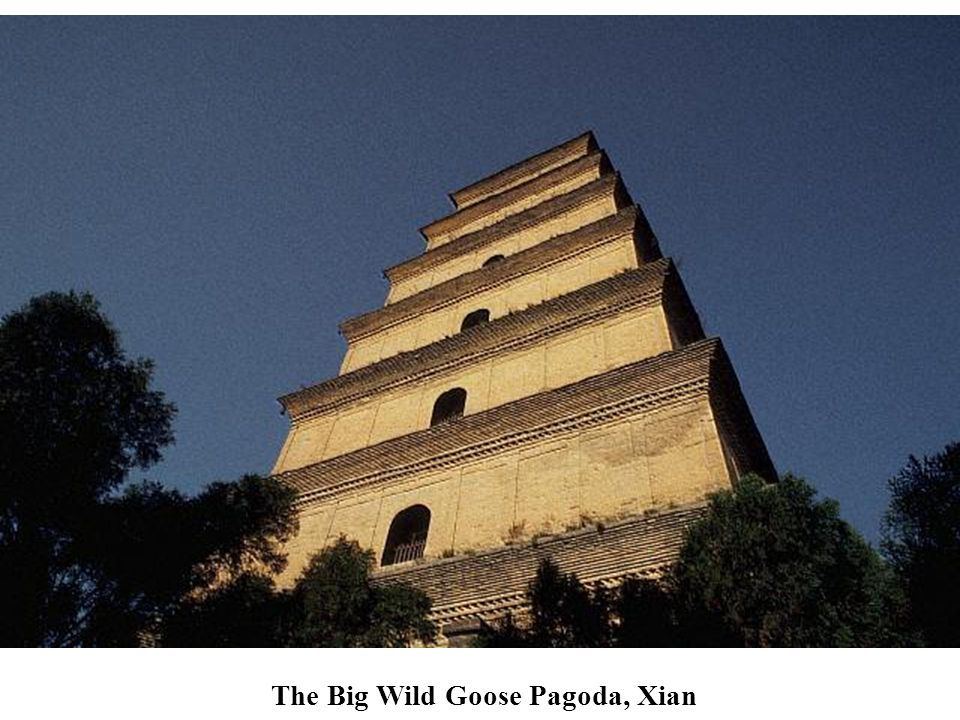 The Big Wild Goose Pagoda, Xian