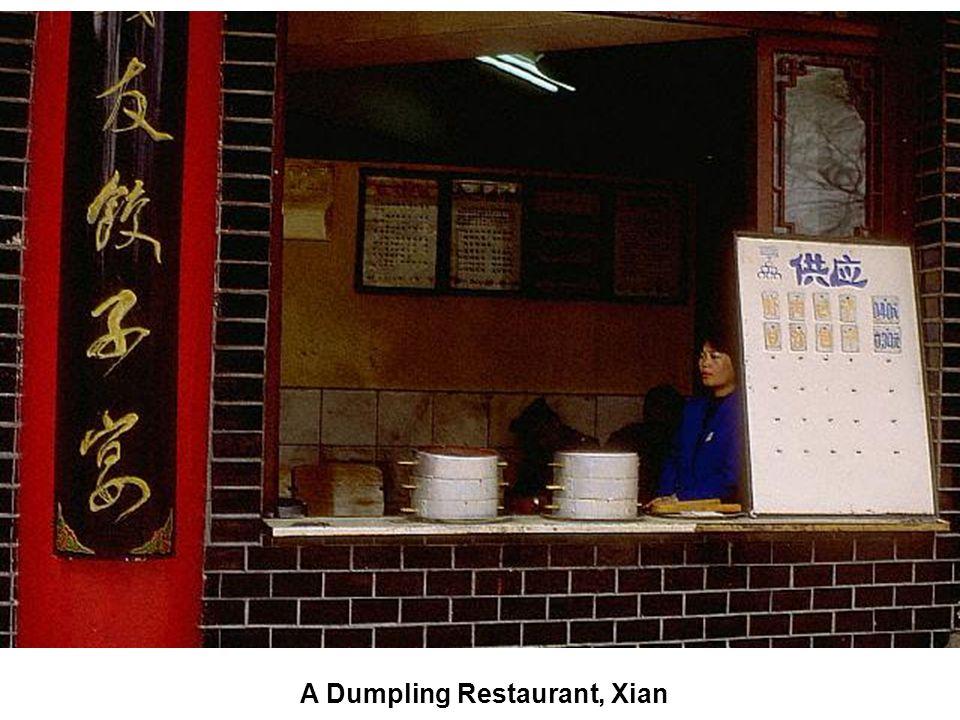 A Dumpling Restaurant, Xian