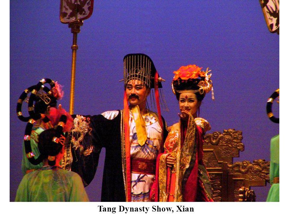 Tang Dynasty Show, Xian