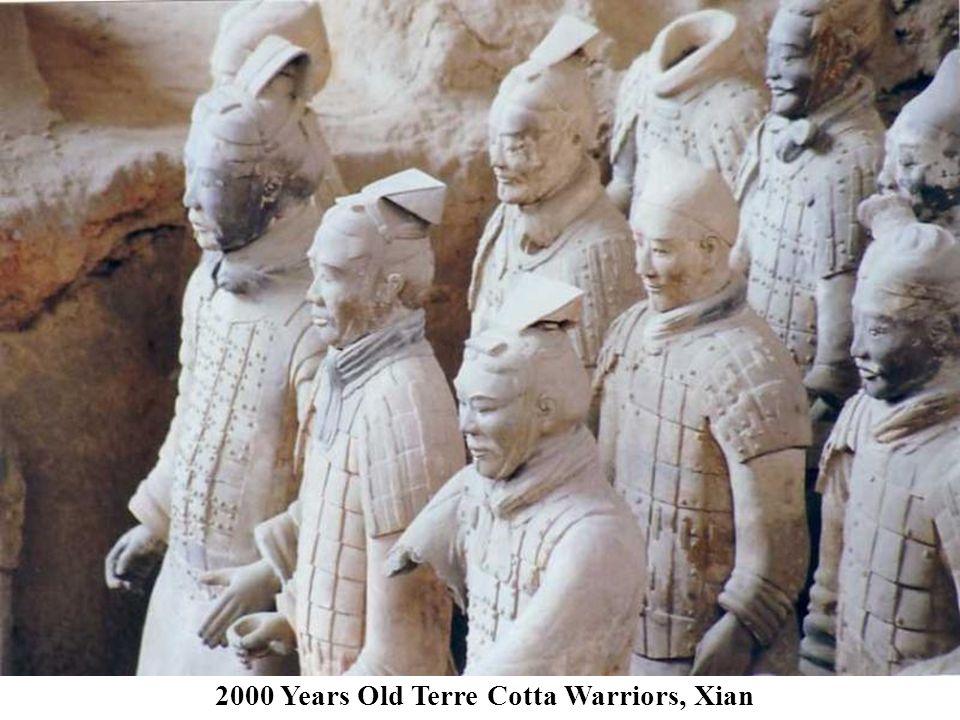 2000 Years Old Terre Cotta Warriors, Xian