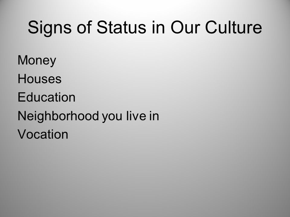 Sign of Status Hannah's Culture Children = Blessing No Children = Curse