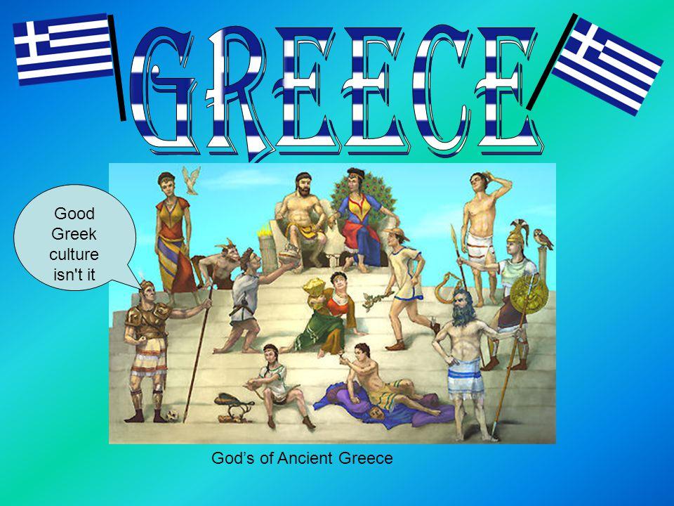 God's of Ancient Greece Good Greek culture isn t it