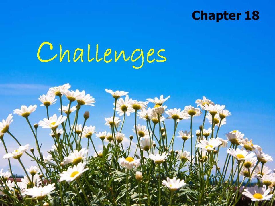 C hallenges Chapter 18