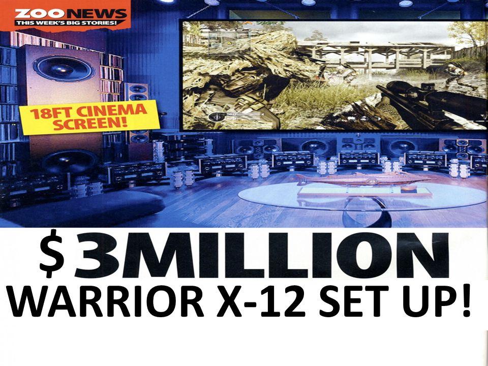Warrior X-12 By: Micah Worek