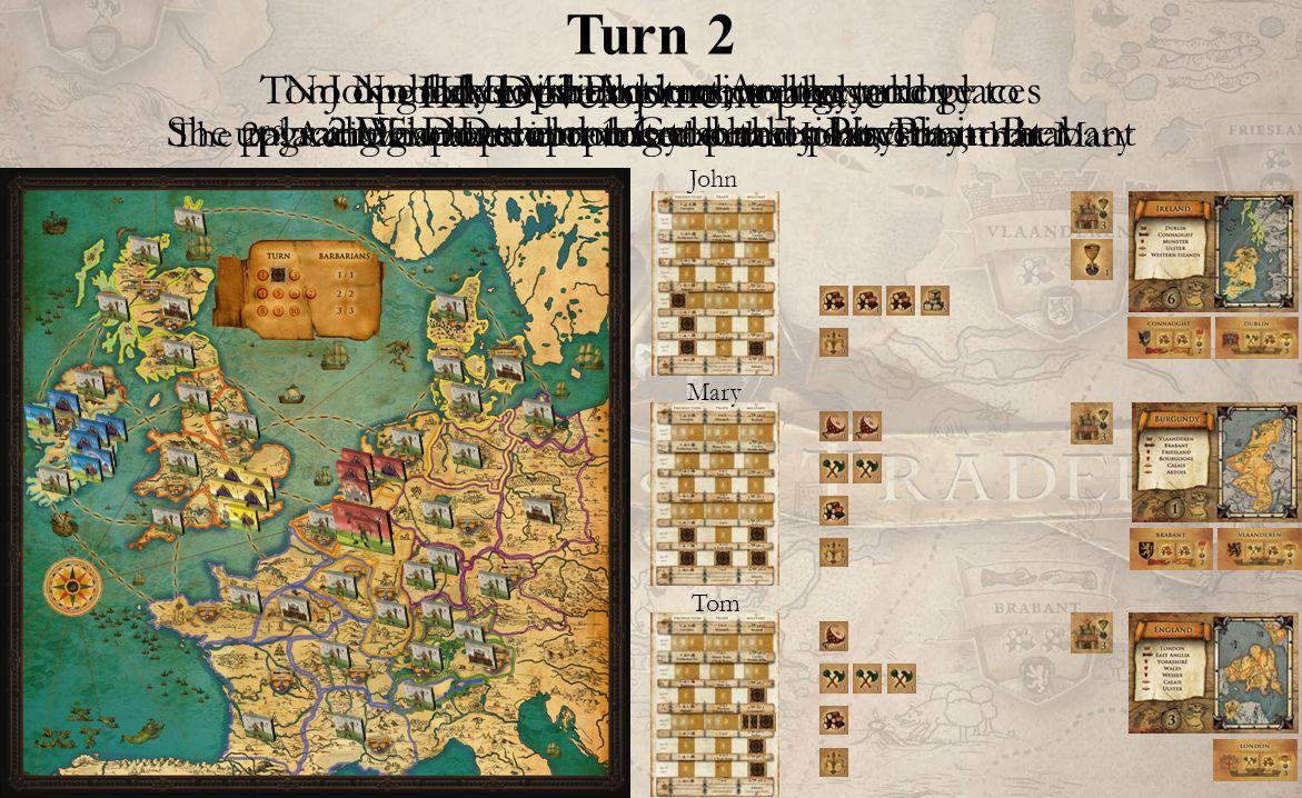 Turn 2 John Mary Tom III.