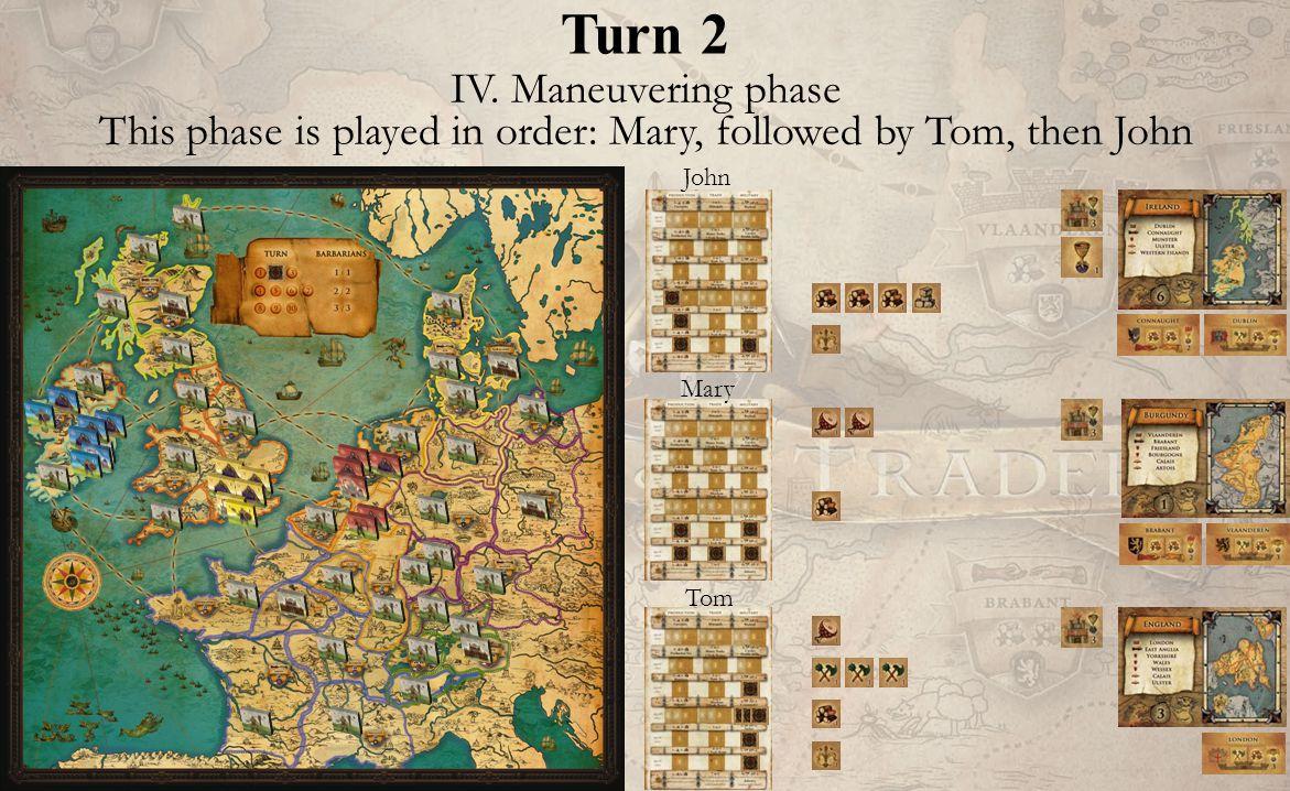 Turn 2 John Mary Tom IV.
