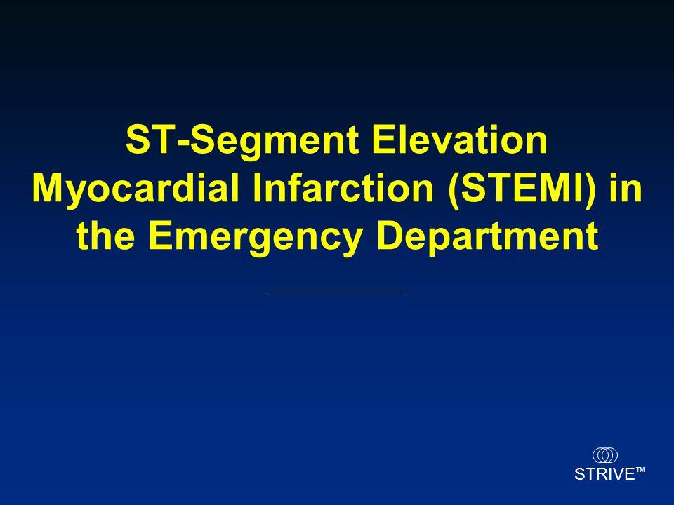 STRIVE TM ST-Segment Elevation Myocardial Infarction (STEMI) in the Emergency Department