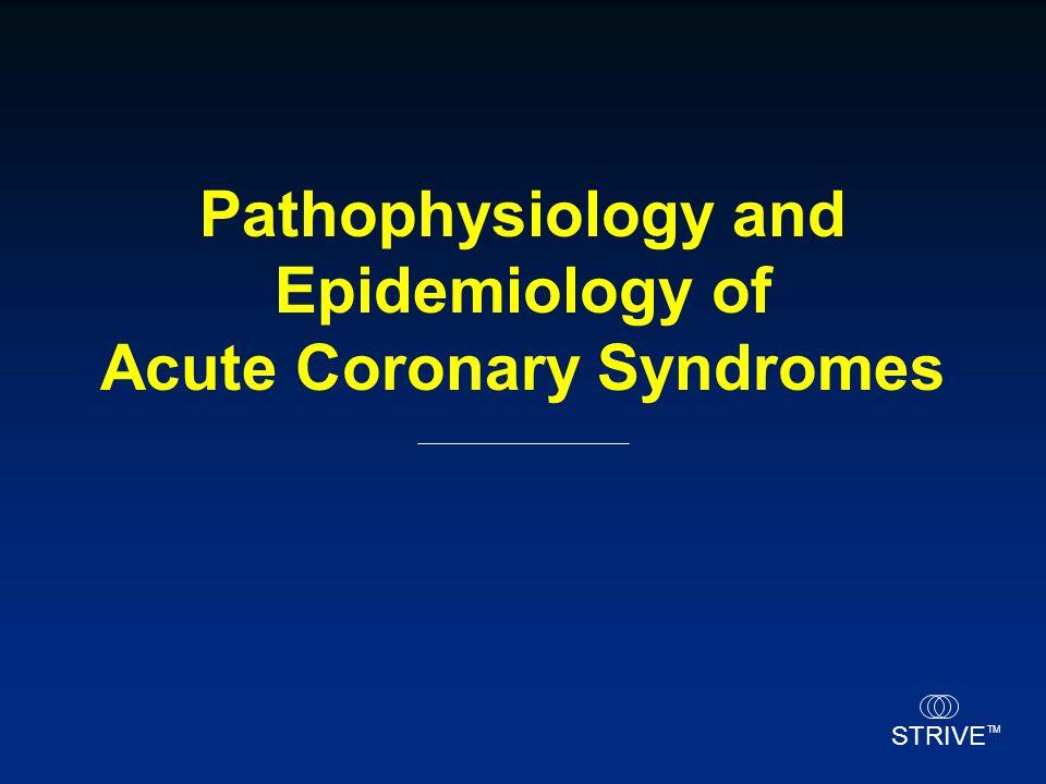 STRIVE TM Pathophysiology and Epidemiology of Acute Coronary Syndromes