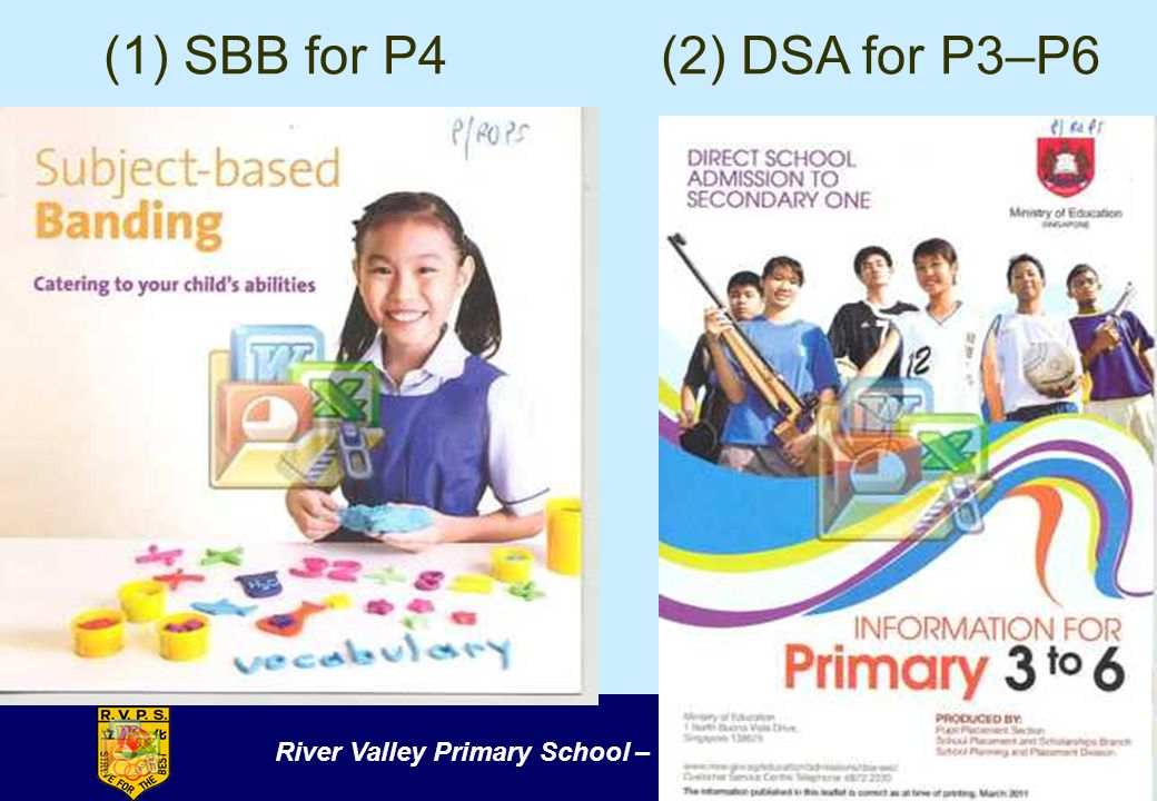 River Valley Primary School – Strive for the Best (1) SBB for P4(2) DSA for P3–P6