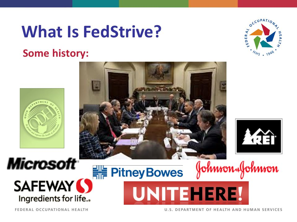 What Is FedStrive? Some history: