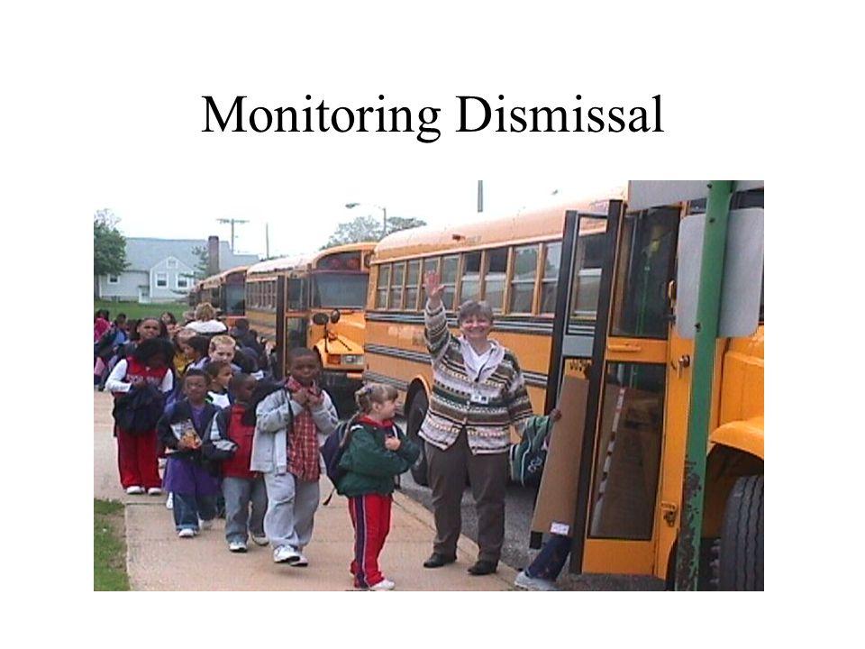 Monitoring Dismissal