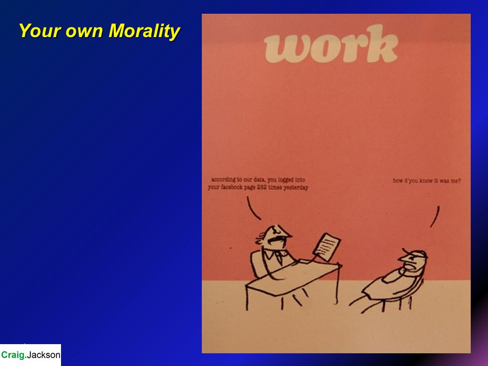 Your own Morality