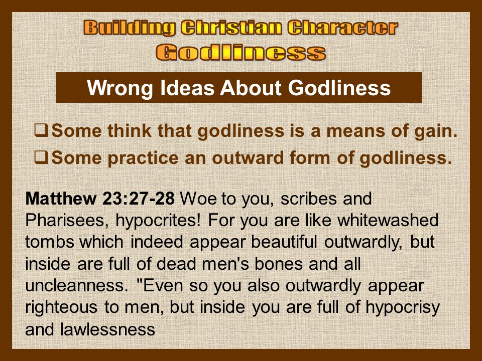 Matthew 23:27-28 Woe to you, scribes and Pharisees, hypocrites! For you are like whitewashed tombs which indeed appear beautiful outwardly, but inside