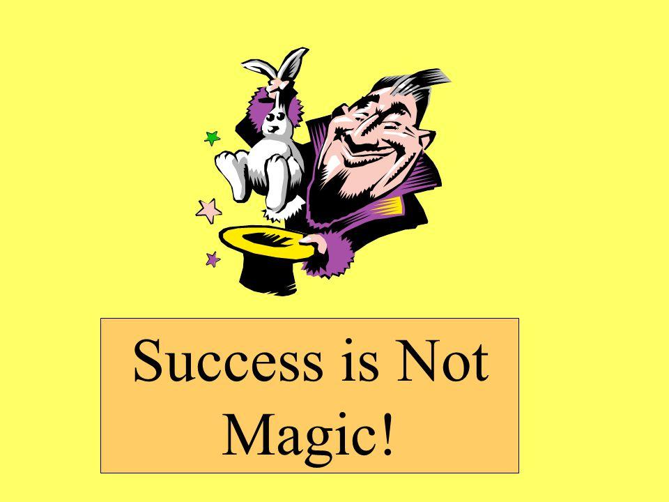 Success is Not Magic!