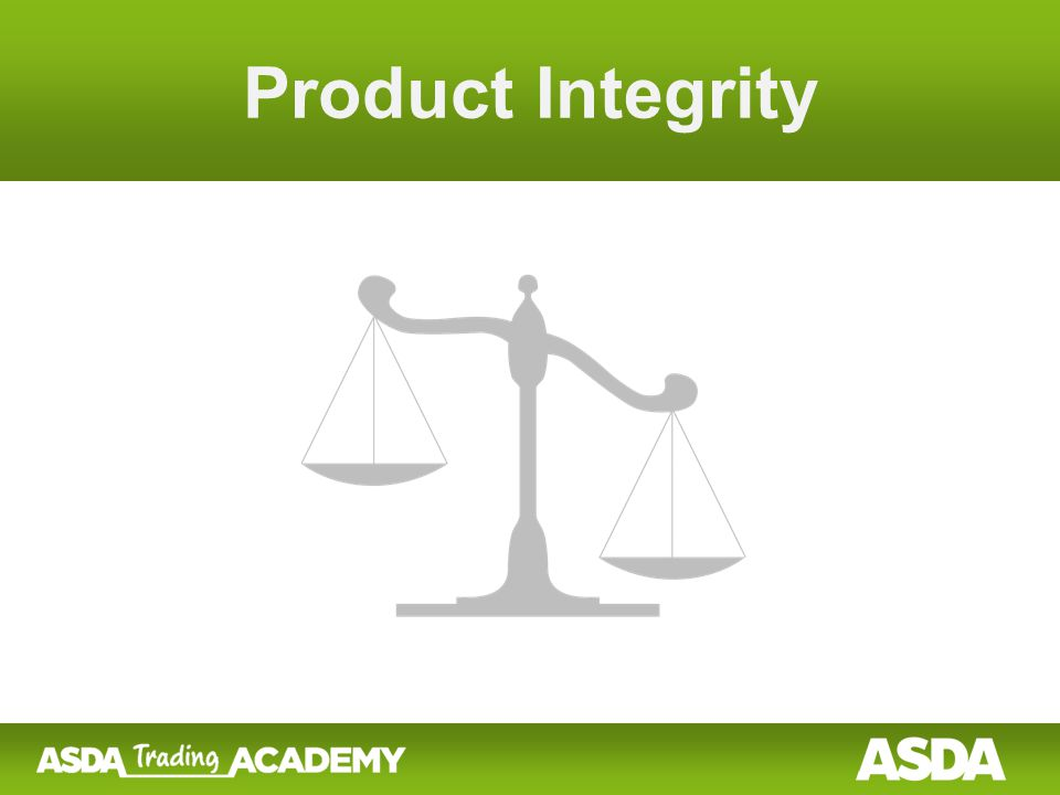 What is Product Integrity.