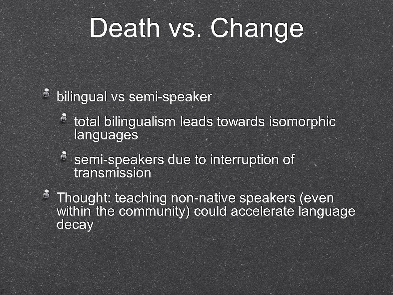 Death vs.
