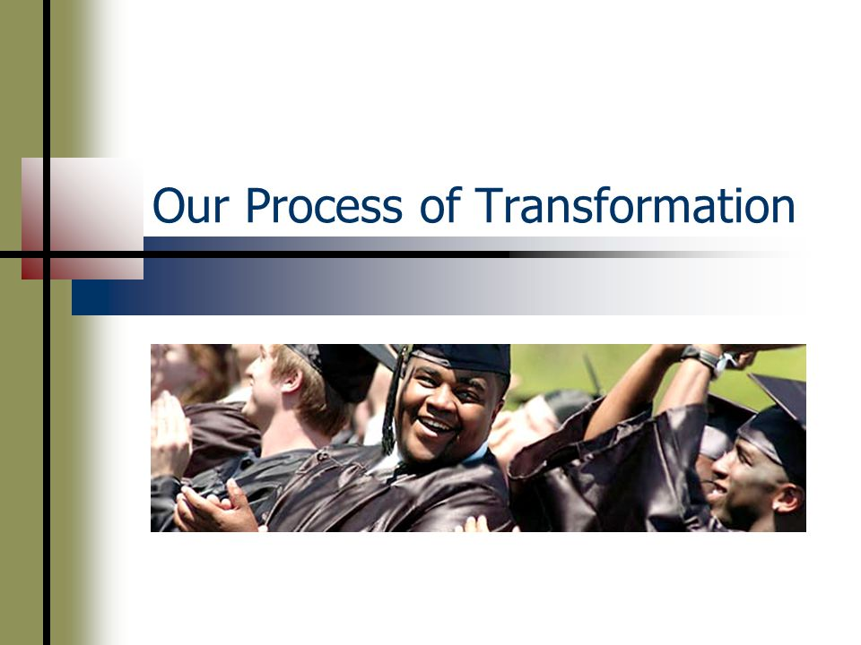 Our Process of Transformation