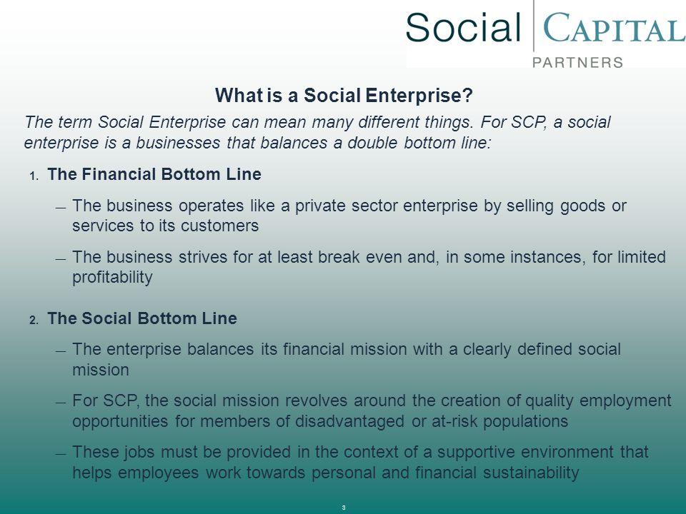 4 Types of Social Enterprises 1.
