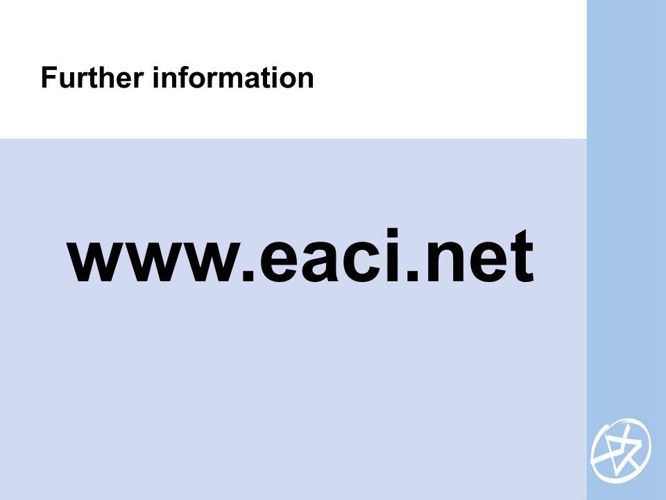 www.eaci.net Further information