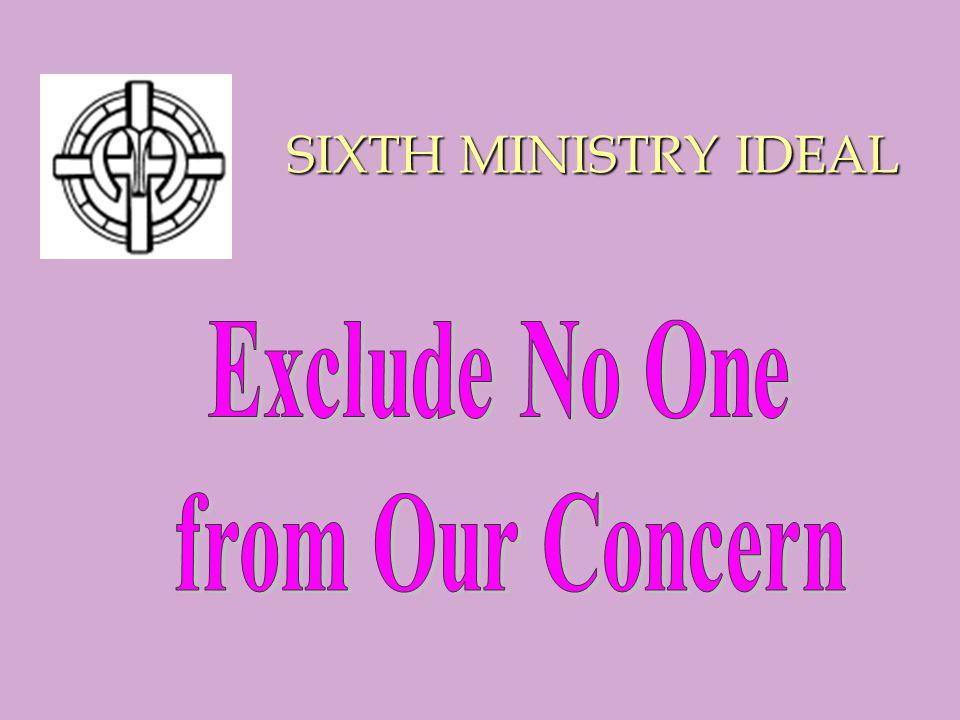 SIXTH MINISTRY IDEAL SIXTH MINISTRY IDEAL