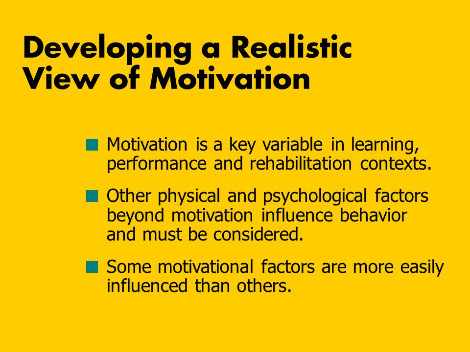 What Theories of Achievement Motivation Tell Us About High Achievers 1.