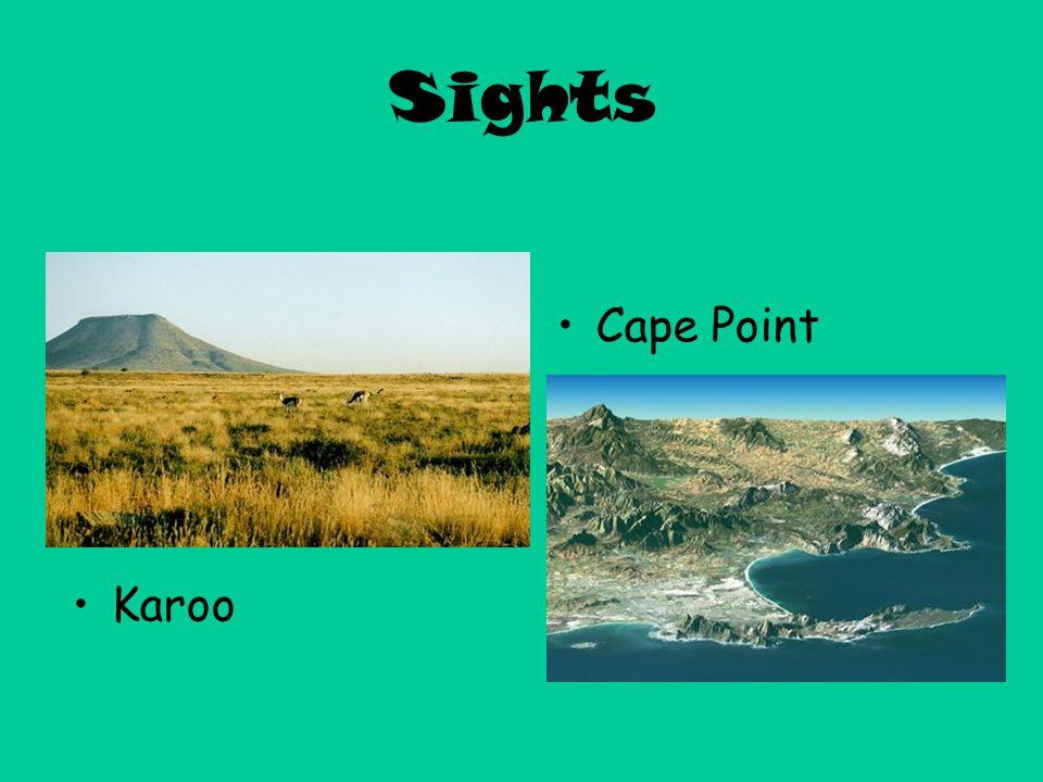 Sights Karoo Cape Point