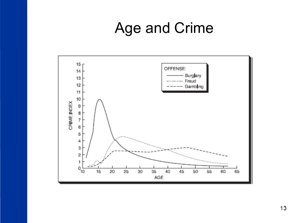 13 Age and Crime