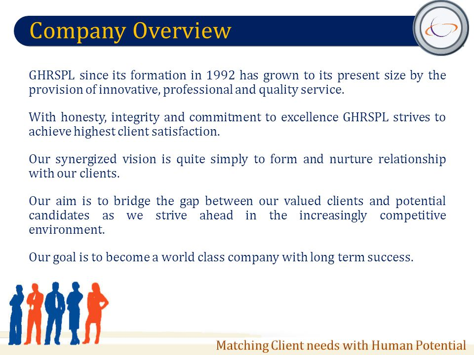 Discover Getting to know the client Client objectives Client company background Culture Requirement Analysis Qualify Initial Screening Assessments Hard and Soft skill check Work History Interview Recruit Candidate Interview by client Shortlist potential candidate Selection Background Verification Offer & Follow- up Negotiation Avoiding potential counter offers and conflicts of interest Help in on-boarding Match S earch Candidate Database Portal Database search Requirement match