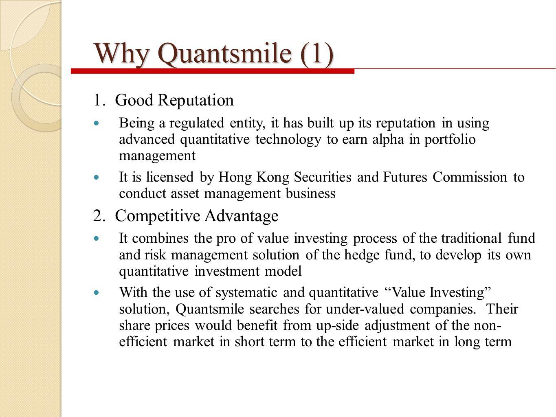 Why Quantsmile (1) 1.