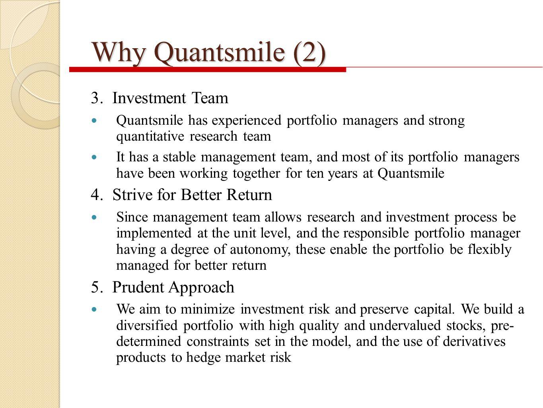 Why Quantsmile (2) 3.