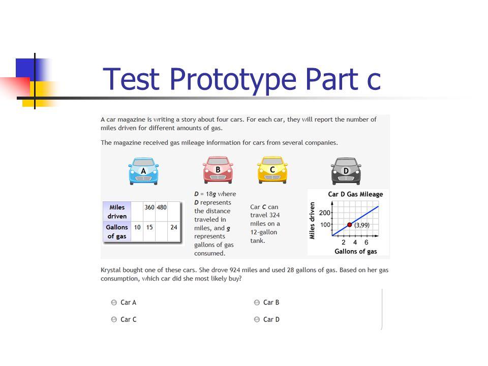 Test Prototype Part c