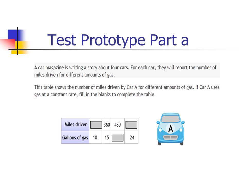 Test Prototype Part a