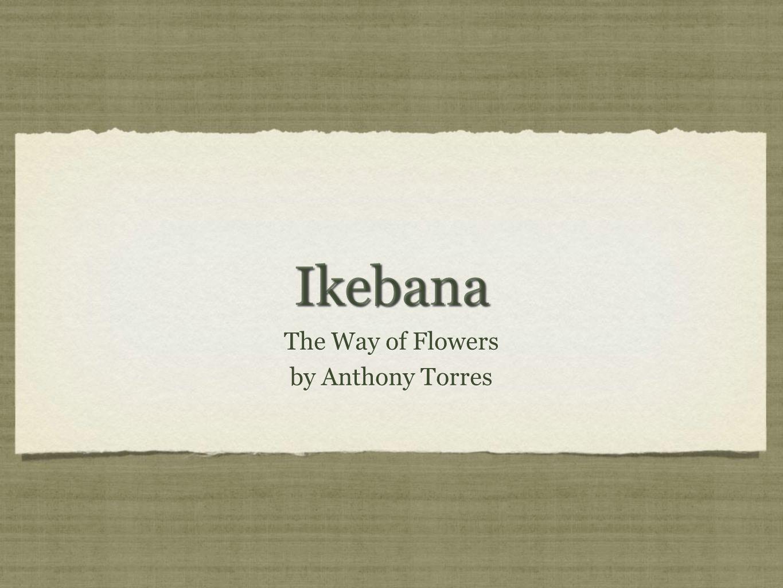 What is Ikebana.In the simplest sense, Ikebana is the Japanese art of flower arrangement.