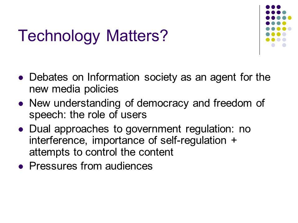 Technology Matters.