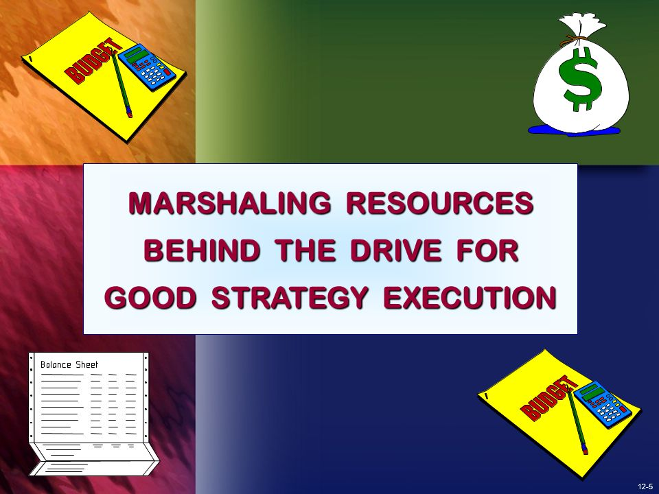 12-36 TYING REWARDS AND INCENTIVES TO STRATEGY EXECUTION