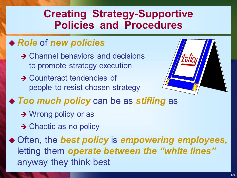 12-10 ADOPTING BEST PRACTICES AND STRIVING FOR CONTINUOUS IMPROVEMENT