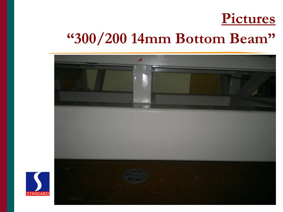 Pictures 300/200 14mm Bottom Beam