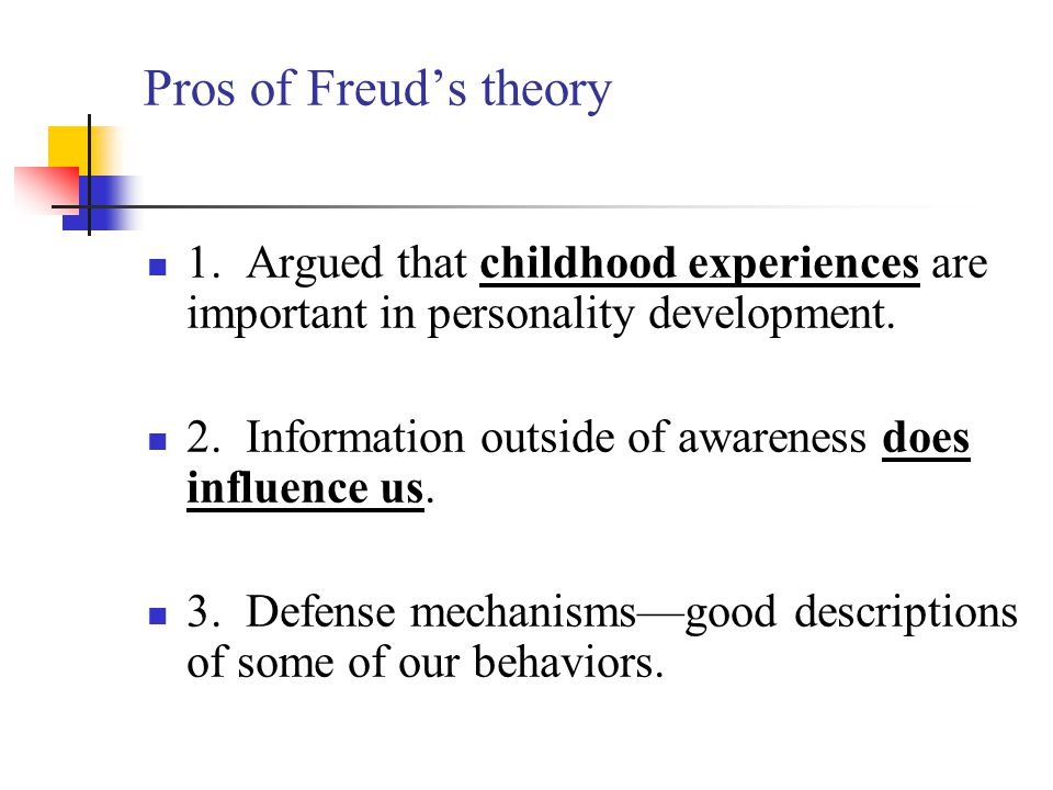 One criticism of Freud's psychosexual theory of development is that it A.emphasizes developmental changes in the oral and anal stages B.views adult disorders as adjustments to the environment C.views fear of loss as a motivating drive D.
