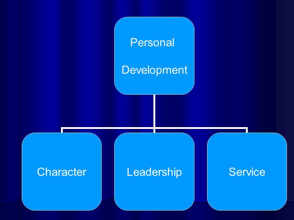 Personal Development CharacterLeadershipService