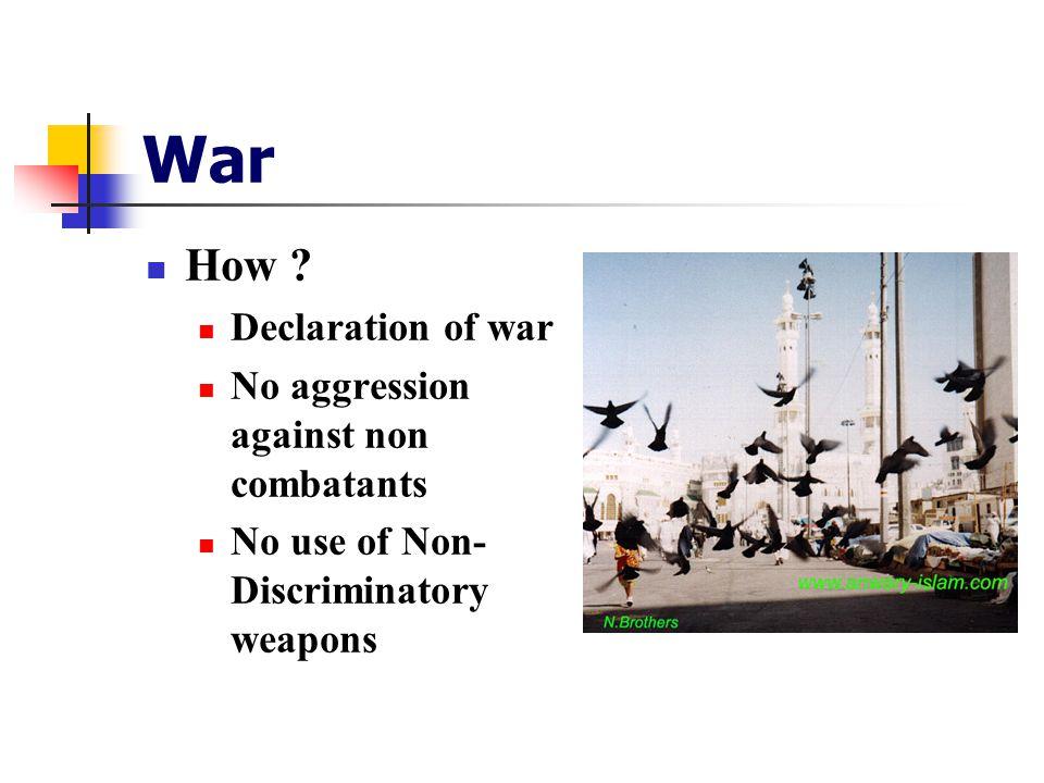War How .