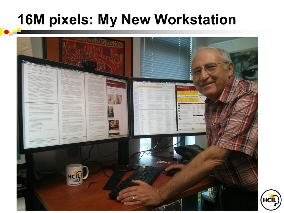 16M pixels: My New Workstation