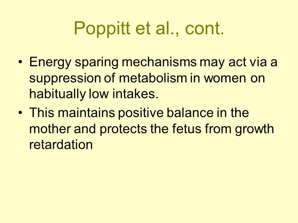 Poppitt et al., cont.