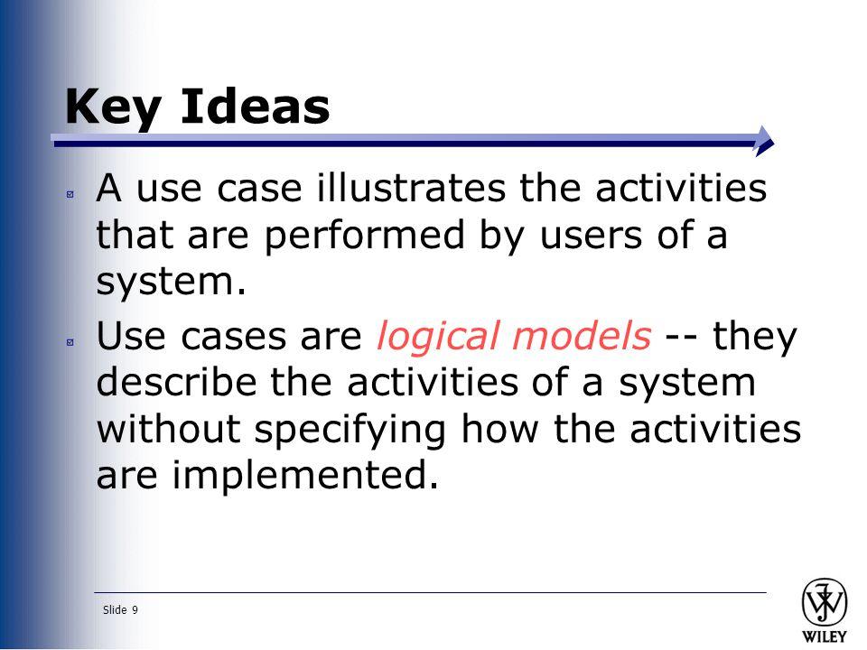 Slide 10 What are Use-Case Descriptions.