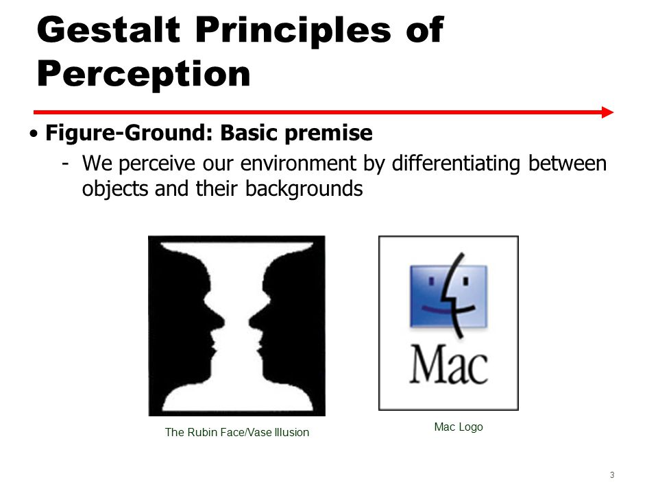 Other Principles of Perception - Screen Complexity Complexity vs.