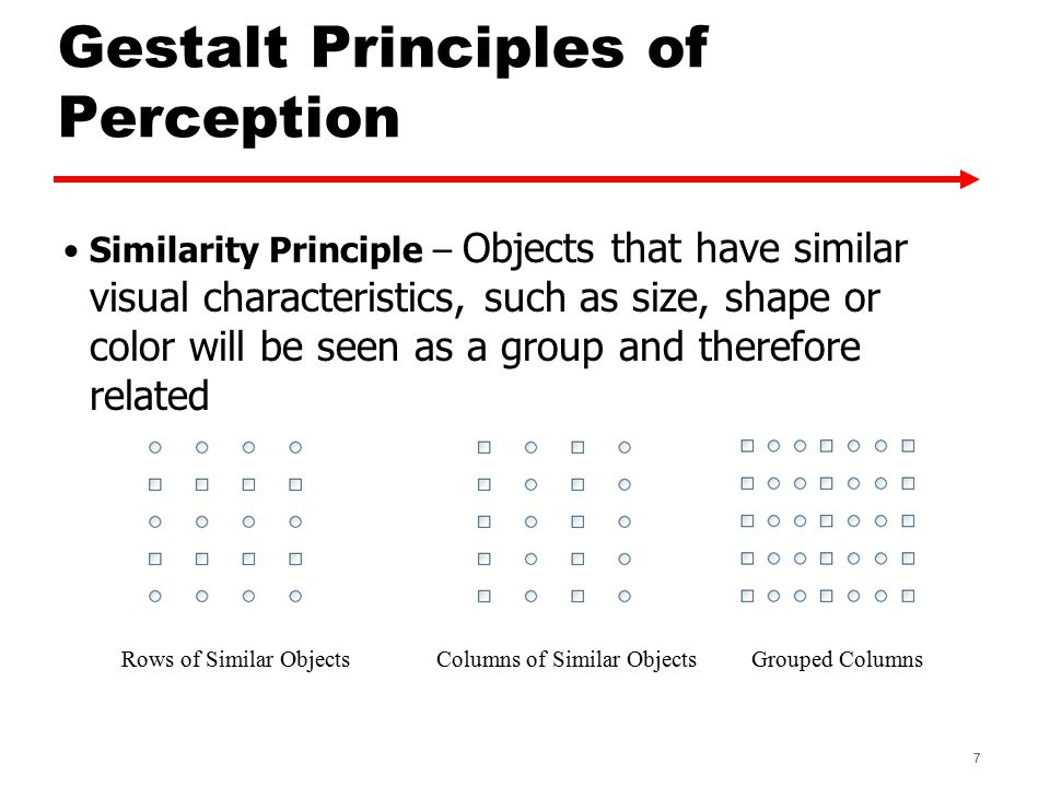 Gestalt Principles of Perception Property Pane from Macromedia's Dreamweaver -Our eyes pick up all of the text boxes because of the strong blue squares and the white areas that they have in common 8