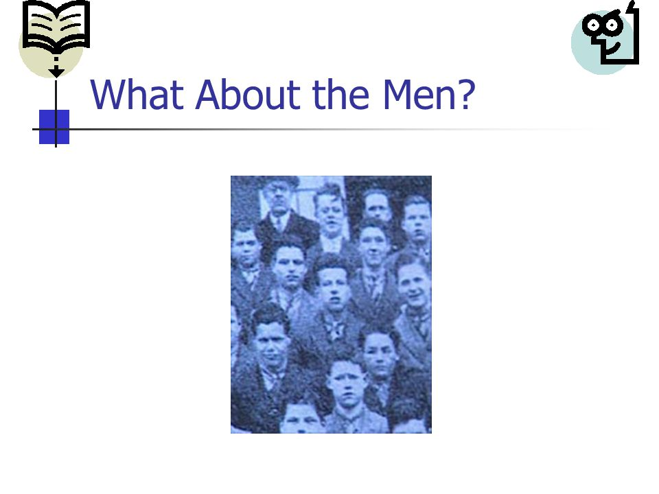 What About the Men