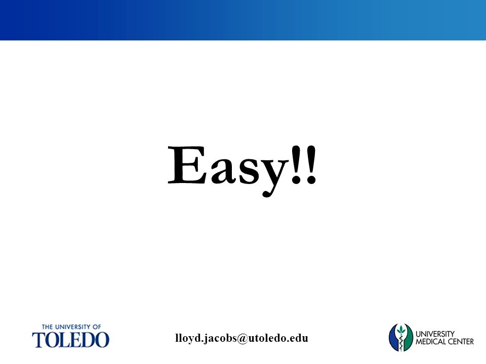 lloyd.jacobs@utoledo.edu Easy!!