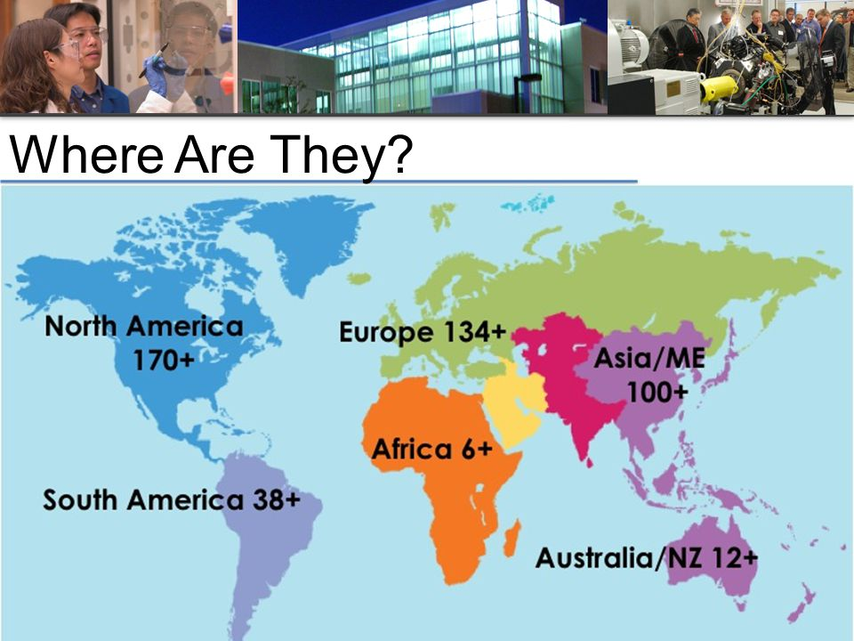 Association of University Research Parks, 2011 © Where Are They