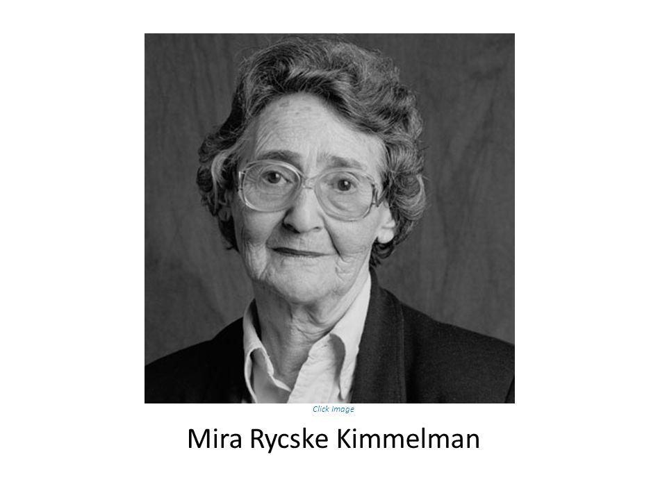 Mira Rycske Kimmelman Click Image